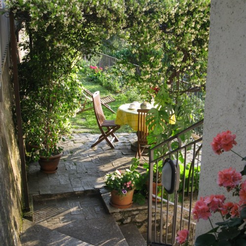 Garden - Lake Como Holiday rental apartments in Menaggio